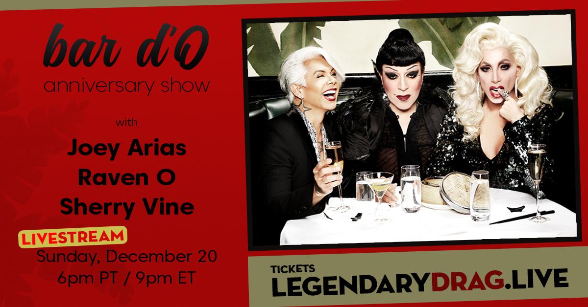 Legendary Drag bar dO Anniversary Show