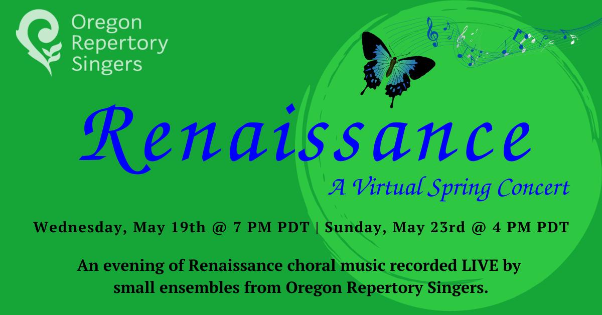 RENAISSANCE: A Virtual Concert Event